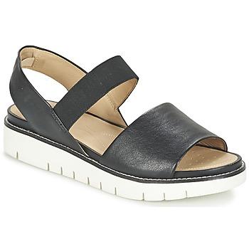 Schoenen Dames Sandalen / Open schoenen Geox D DARLINE C Zwart