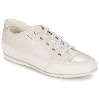 Schoenen Dames Lage sneakers Geox NEW MOENA Wit