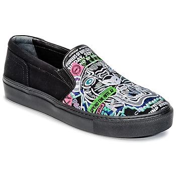 Schoenen Dames Instappers Kenzo K-SKATE Zwart