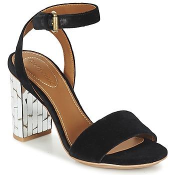Schoenen Dames Sandalen / Open schoenen See by Chloé SB28001 Zwart / Velours