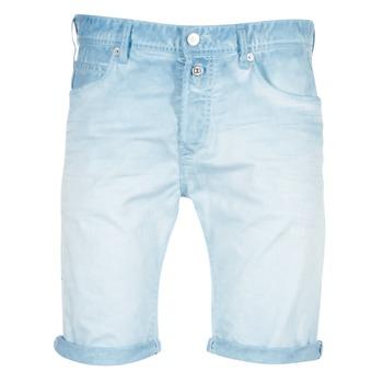 Textiel Heren Korte broeken / Bermuda's Replay RBJ901 Blauw / TURQUOISE