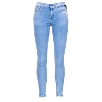 Textiel Dames ¾ jeans & 7/8 jeans Replay JOI Blauw / MEDIUM
