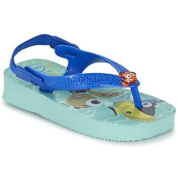 Schoenen Kinderen Slippers Havaianas BABY DISNEY CUTIES Blauw / Glacier