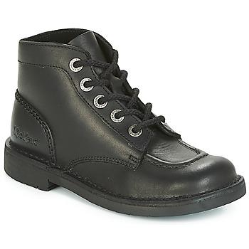 Schoenen Dames Laarzen Kickers KICK COL PERM Zwart