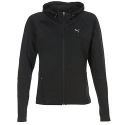 Textiel Dames Sweaters / Sweatshirts Puma TRANSITION JKT Zwart