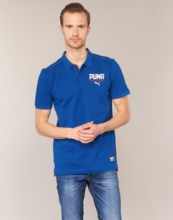 Textiel Heren Polo's korte mouwen Puma STYLE TEC POLO Blauw