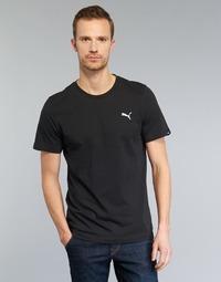 Textiel Heren T-shirts korte mouwen Puma ESS TEE Zwart