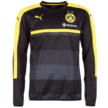 Textiel Heren Sweaters / Sweatshirts Puma BVB TRAINING SWEAT Zwart / Geel
