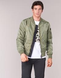 Textiel Heren Wind jackets Eleven Paris JUXY Kaki