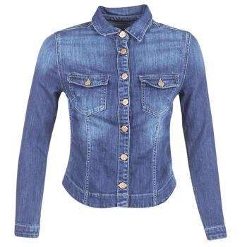 Textiel Dames Spijker jassen Le Temps des Cerises LILLYM Blauw / Medium
