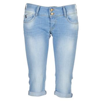 Textiel Dames ¾ jeans & 7/8 jeans Le Temps des Cerises CHRISTIA Blauw / CLAIR