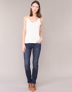 Textiel Dames Straight jeans Levi's 714 STRAIGHT WEST / Coast / WONDER