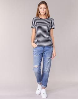 Textiel Dames Boyfriend jeans Levi's 501 CT Radio / Star