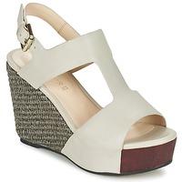 Schoenen Dames Sandalen / Open schoenen Café Noir CHANVIO Beige