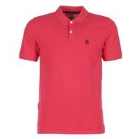Textiel Heren Polo's korte mouwen Selected ARO Rood