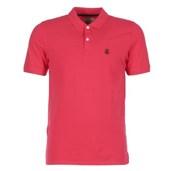 Textiel Heren Polo's korte mouwen Selected ARO Rood