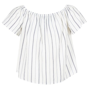 Textiel Dames Tops / Blousjes Betty London GOYPILA Ecru