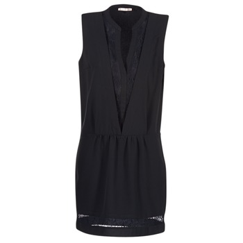 Textiel Dames Korte jurken Les P'tites Bombes JOUNE Zwart