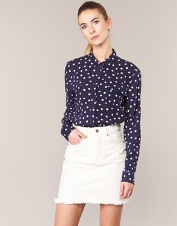 Textiel Dames Overhemden Kookaï HOLIAVE Marine / Wit