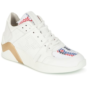 Schoenen Dames Hoge sneakers Serafini CHICAGO Wit / Goud