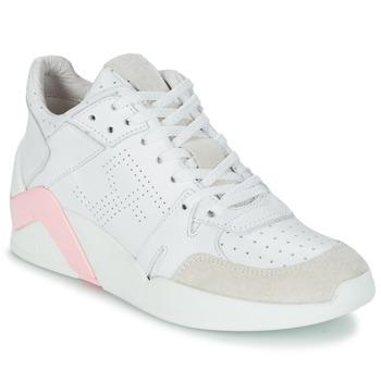 Schoenen Dames Hoge sneakers Serafini CHICAGO Wit / Roze