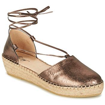 Schoenen Dames Sandalen / Open schoenen Betty London GIORDA Brons