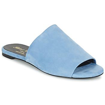 Schoenen Dames Leren slippers Robert Clergerie GIGY Blauw