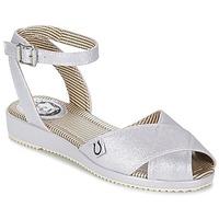 Schoenen Dames Sandalen / Open schoenen Miss L'Fire HARLOW Zilver