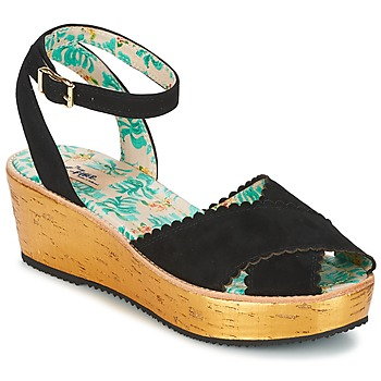 Schoenen Dames Sandalen / Open schoenen Miss L'Fire MARCIE Zwart
