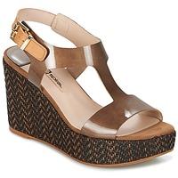 Schoenen Dames Sandalen / Open schoenen Spiral PAULA Brown