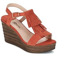 Schoenen Dames Sandalen / Open schoenen Spiral CARLA Orange