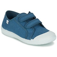 Schoenen Meisjes Lage sneakers Citrouille et Compagnie GLASSIA Blauw