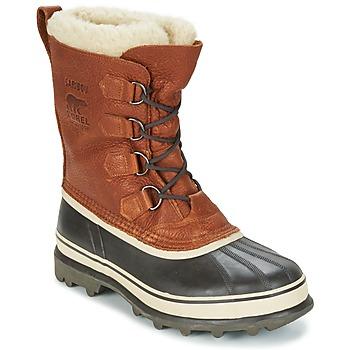 Schoenen Heren Snowboots Sorel CARIBOU WL Tabacco