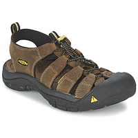 Schoenen Heren Outdoorsandalen Keen NEWPORT Brown