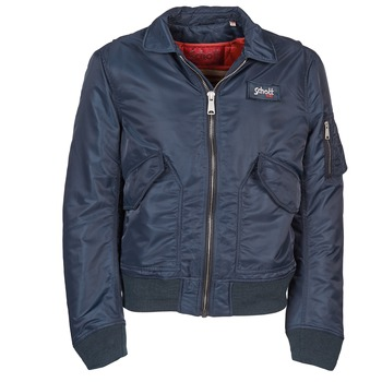 Textiel Heren Wind jackets Schott RIVINI Marine