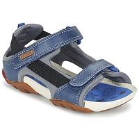 Schoenen Jongens Sandalen / Open schoenen Camper OUS Blauw