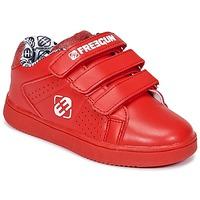 Schoenen Kinderen Lage sneakers Freegun FG ULSPORT Rood / Wit