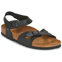 Schoenen Dames Sandalen / Open schoenen Birkenstock RIO Zwart
