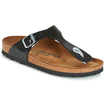 Schoenen Kinderen Slippers Birkenstock GIZEH Zwart