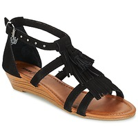 Schoenen Dames Sandalen / Open schoenen Minnetonka MARINA Zwart