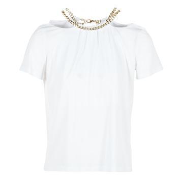 Textiel Dames Tops / Blousjes Versace Jeans B2HPB721 Wit