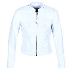Textiel Dames Leren jas / kunstleren jas Vero Moda QUEEN Blauw / CLAIR