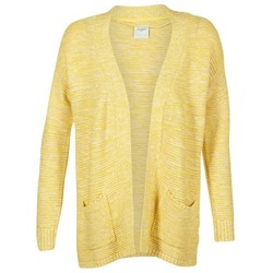 Textiel Dames Vesten / Cardigans Vero Moda GERDA Geel