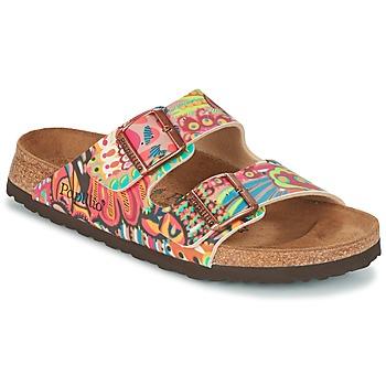 Schoenen Dames Leren slippers Papillio ARIZONA Multikleuren