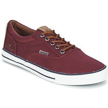 Schoenen Heren Lage sneakers Tom Tailor EXIBOU Bordeaux