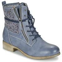 Schoenen Dames Laarzen Tom Tailor RELOUNI Blauw