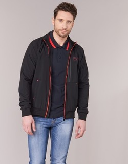 Textiel Heren Wind jackets Emporio Armani EA7 TRAIN EVOLUTION Zwart