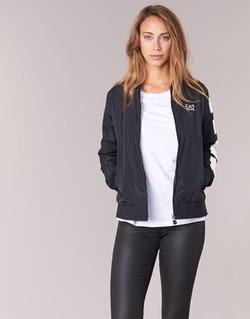 Textiel Dames Wind jackets Emporio Armani EA7 TRAIN MASTER Zwart