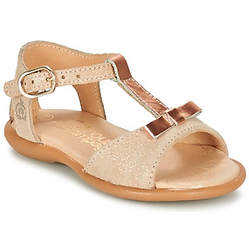 Schoenen Meisjes Sandalen / Open schoenen Citrouille et Compagnie GUGULE Goud