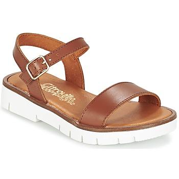 Schoenen Meisjes Sandalen / Open schoenen Citrouille et Compagnie GLAPOTI  CAMEL